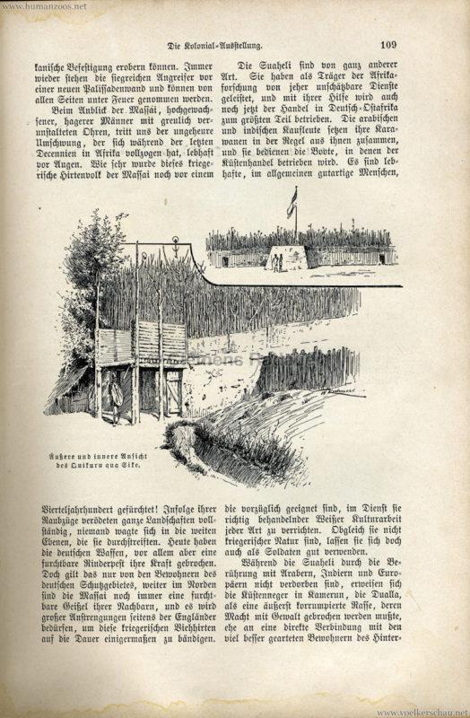 1896 Velhagen & Klasings Monatshefte - Gewerbe Ausstellung Berlin S. 109