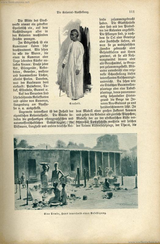 1896 Velhagen & Klasings Monatshefte - Gewerbe Ausstellung Berlin S. 111