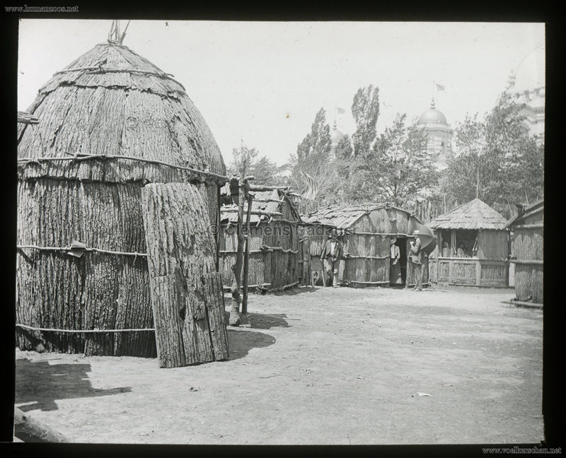 1901 Pan-American Exposition - African Village