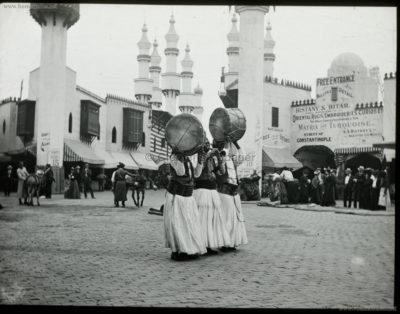 1901 Pan-American Exposition - Cairo - Musicians