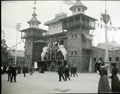 1901 Pan-American Exposition - Darkest Africa