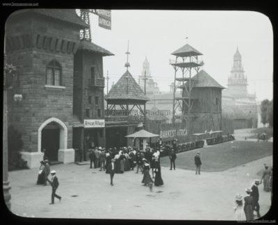 1901 Pan-American Exposition - Darkest Africa - African Village