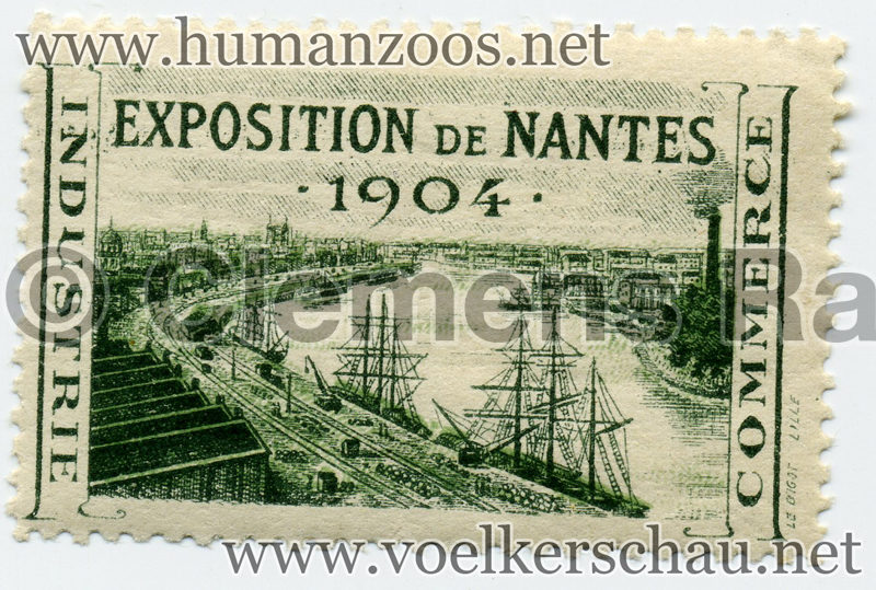 1904 Exposition de Nantes STAMP 1