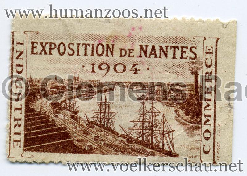 1904 Exposition de Nantes STAMP 2