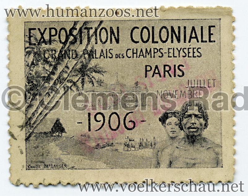 1906 Exposition Coloniale de Paris STAMP