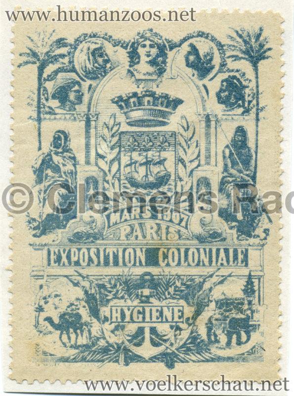 1907 Exposition Coloniale de Nogent-sur Marne STAMP 2
