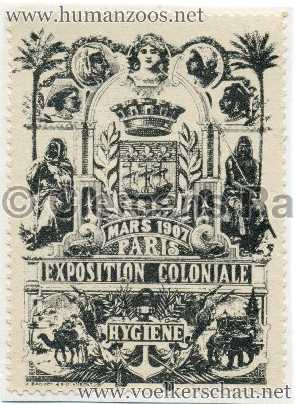 1907 Exposition Coloniale de Nogent-sur Marne STAMP 3