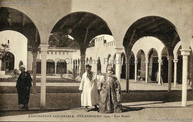 1924 Exposition Coloniale Strasbourg - Les Souks