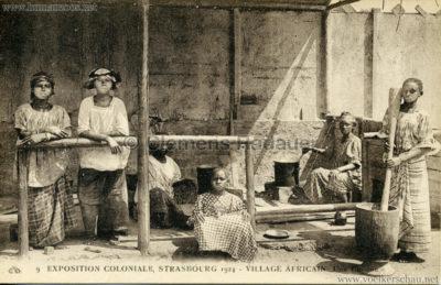 1924 Exposition Coloniale Strasbourg - Village Africain - 9. Une Cuisine