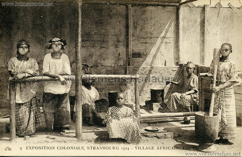 1924 Exposition Coloniale Strasbourg - Village Africain - 9. Une Cuisine