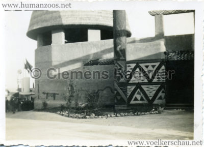 1935 Exposition Universelle Bruxelles - FOTOS - S 3 - Village Congo