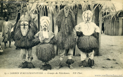 Jardin d'Acclimatation - 83. Groupe de Feticheurs