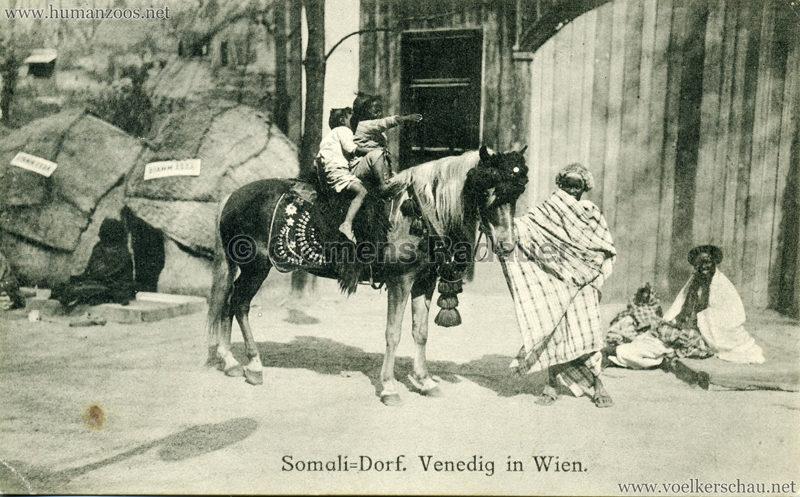 Somali-Dorf Venedig in Wien 9