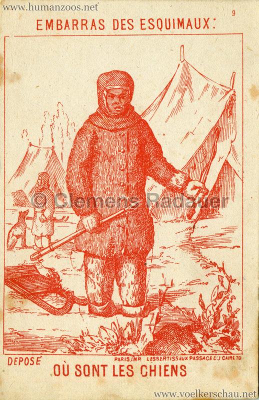 1878 Ou sont les Chiens - Embarras de Esquimaux