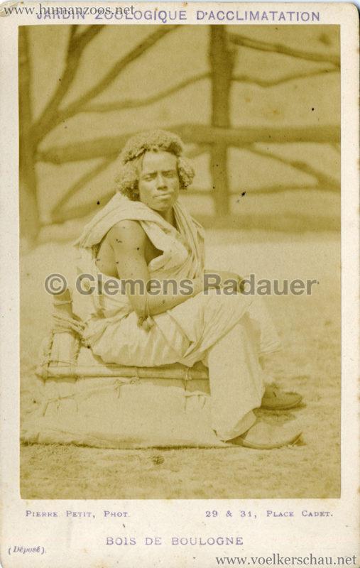 1879 (?) Jardin Zoologique d'Acclimatation - Nubiens (?) 6