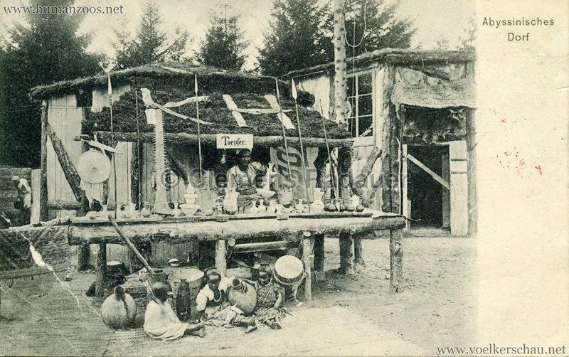 1905:1906 Abyssinisches Dorf