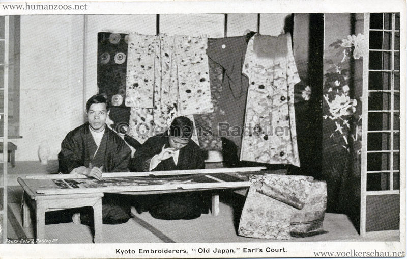 1907 Old Japan at Earl's Court - Kyoto Embroiderers