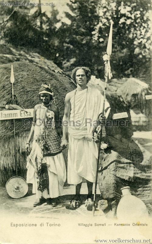 1911 Esposizione di Torino - Villaggio Somali - Kermesse Orientale 8