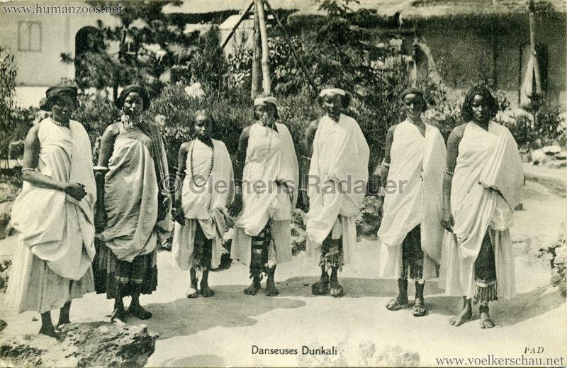 1913 (??) Magic City Village Dunkali - Danseuses Dunkali 2