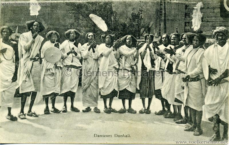 1913 (??) Magic City Village Dunkali - Danseuses Dunkali 3