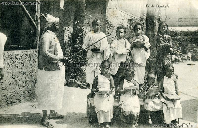 1913 (??) Magic City Village Dunkali - Ecole Dunkali