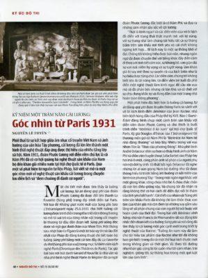 Artikel Dance Annamite 1