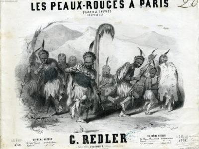 1850 Les Peaux Rouges a Paris (Gatlin Joways) 1