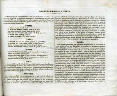 1850 Les Peaux Rouges a Paris (Gatlin Joways) 2