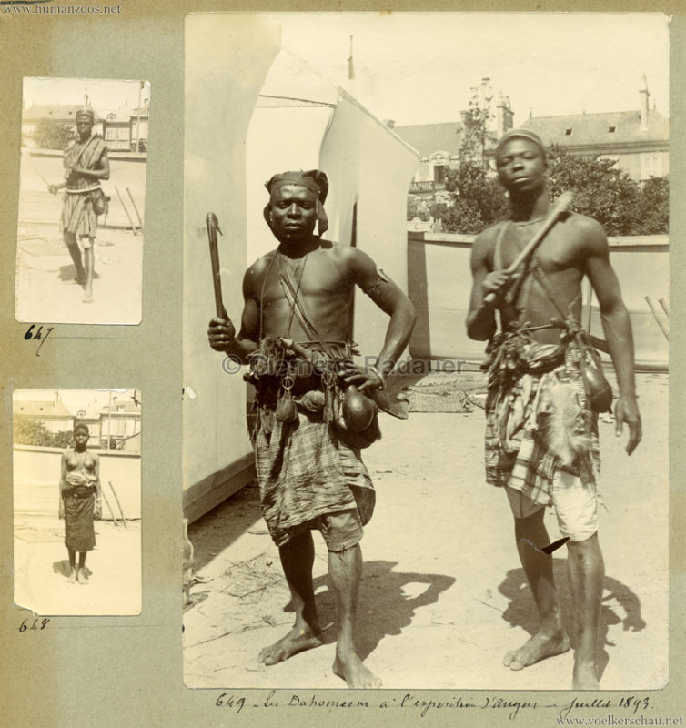 1893 Exposition National Angers - Dahomeens 4