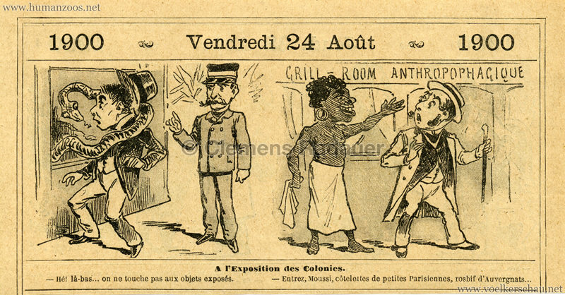 1900.08.24 Almanach Vermot - Exposition Colonies