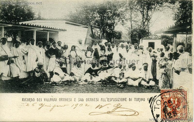 1902 Esposizione di Torino - Villaggi Sudanesi e Sud-Oranesi 8 kopieren