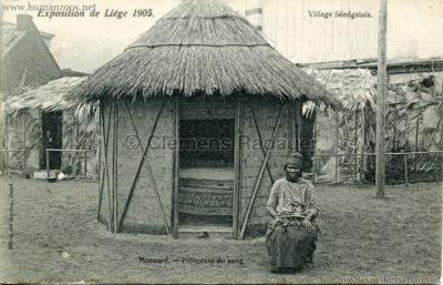 1905 Exposition de Liège - Village Sénégalais - Mocoure - Princesse du sang