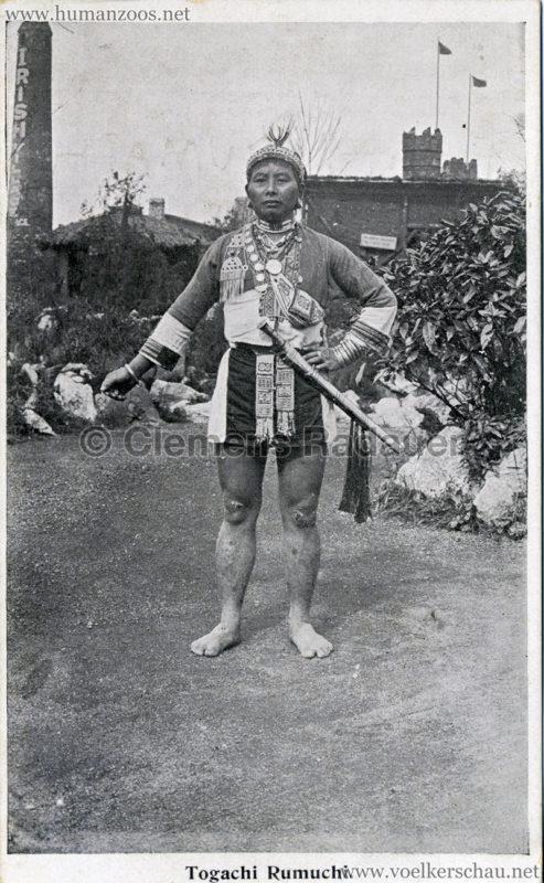 1910 Japan-British Exhibition - Formosa Village - Togachi Rumuchi VS