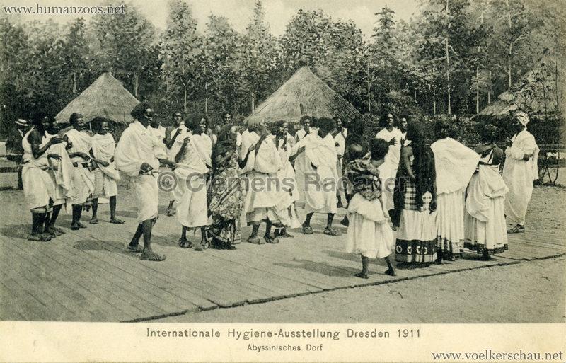 1911 Internationale Hygieneausstellung Dresden - Abyssinisches Dorf 4