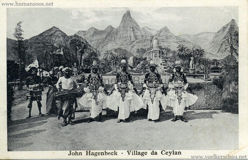 1926 John Hagenbeck - Village da Ceylan 1 2