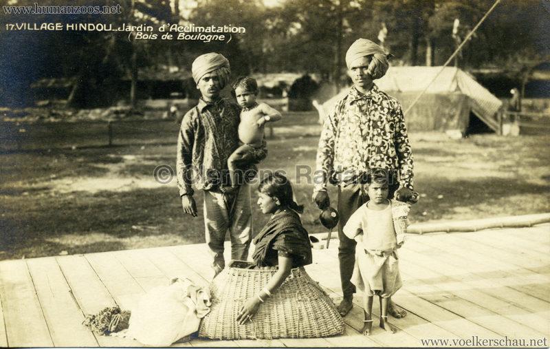 1926 Village Hindou - Jardin d'Acclimatation 17