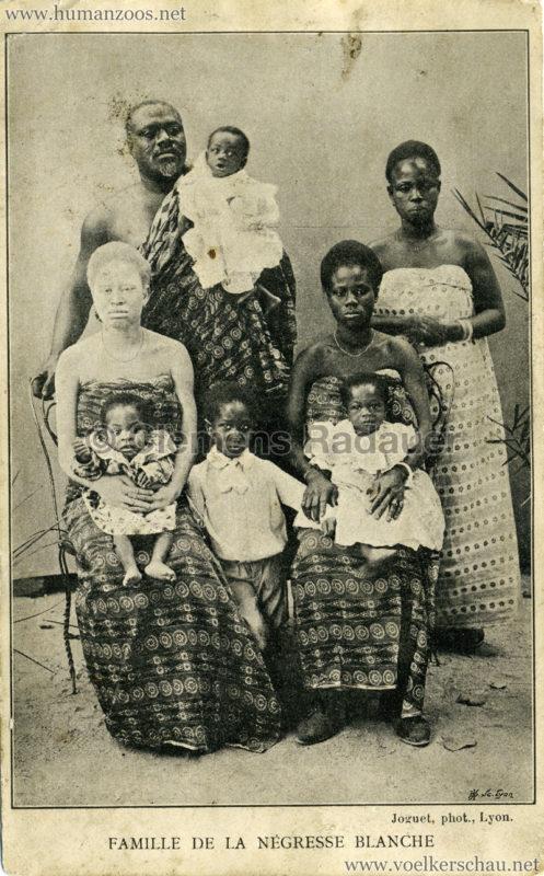 Famille de la negresse blanche Bruce NAYO