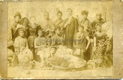 James H. Balmer African Kaffir Choir CDV VS