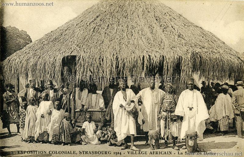 1924 Exposition Coloniale Strasbourg - Village Africain - 2. La Salle de Dance