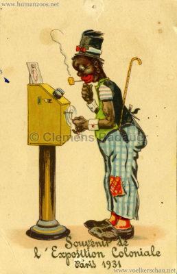 1931 Exposition Coloniale Internationale Paris - Souvenir Negre