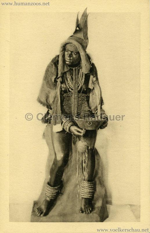 Herero-Frau (Südwest-Afrika)