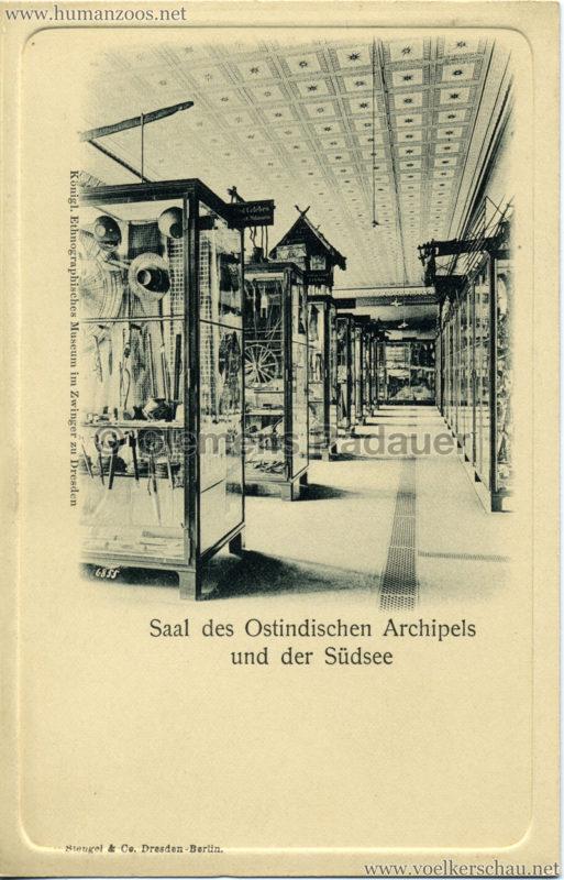 Königl. Ethnographisches Museum im Zwinger zu Dresden - Saal des Ostindischen Archipels und der Südsee 1
