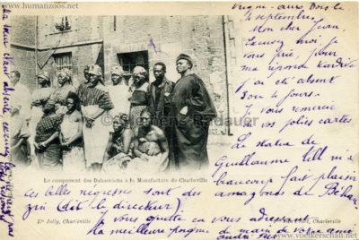 Le campement des Dahomeens a la manufacture de Charleville 1