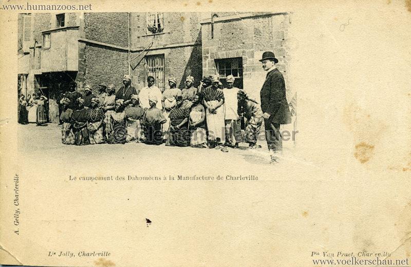 Le campement des Dahomeens a la manufacture de Charleville 2