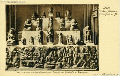 Städtisches Völker-Museum Frankfurt - Steinskulpturen von den altjavanischen Tempeln von Borobudur u. Prambanan