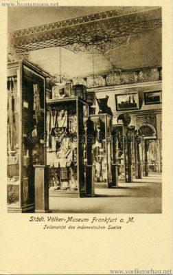 Städtisches Völker-Museum Frankfurt - Teilansicht des indonesischen Saales