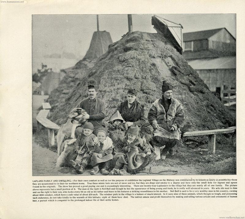 1893 World's Fair Chicago - 2. Lapland Family