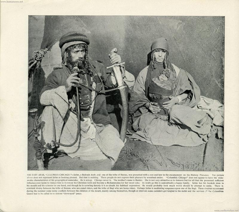 1893 World's Fair Chicago - 6. The Baby Arab
