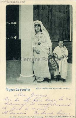 1894 Exposition Universelle d'Anvers - 1375. Mere tunisienne avec son enfant