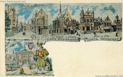 1894 Exposition Universelle d'Anvers - Vielle Anvers